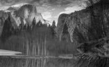 Yosemite Reflection 2 BW