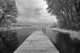 Dock at St. Joseph River, Centreville, Michigan '13-IR