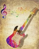 Color Music Guitar