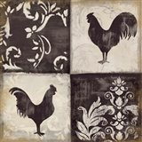 Rooster Silhouette I