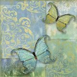 Damask & Butterflies I