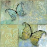 Damask & Butterflies II