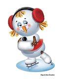Snowgirl Figure Skater