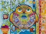 Judaica Folk Owl