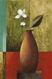 Gold Vase Floral I