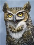 Great Horned Owl Totem