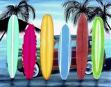 Woody & Surfboards