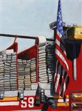 Engine 59 American Flag