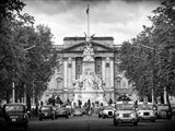 Buckingham Palace and Black Cabs - London