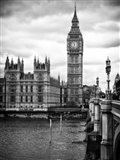 The Palace of Westminster and Big Ben - London