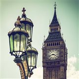 Big Ben and the Royal Lamppost UK
