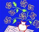 Teapot Vase - Blue