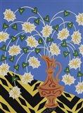Floral Urn - Brown