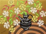 Black Teapot Vase