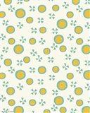 Yellow Dots Pattern