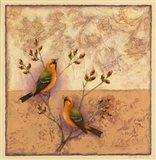 Two Orange Birds