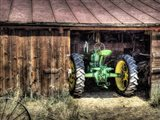 Deere in the Barn