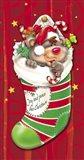 Christmas Stockings And Bears 2
