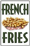 French Fries Vertical