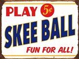 Skeeball Sign