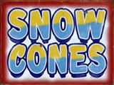 Snow Cones Distressed