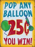Pop Any Balloon Distressed