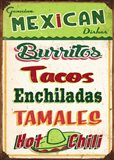 Mexican Sign Board