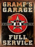 Gramps Garage Rusted Vertical