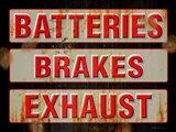 Batteries Brakes Exhaust