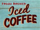 Iced Coffee Rustic - Rectangle
