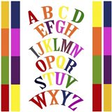 Rainbow Alphabet 2