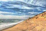 Footprints On Cape Cod Shore