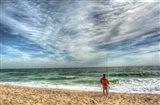 Solitary Surf Fisherman