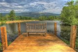 Mountain Dock and Bench I