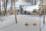Winter Adirondak Chairs