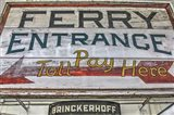 Ferry Boat Entrance Sign