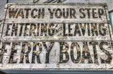 FerryBoats Sign