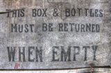 Return When Empty Box