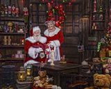 Painting With Mrs Claus