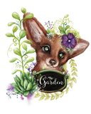 The Garden Sign Fox