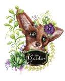 The Garden Sign Fox