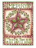 Merry Christmas Holly Star
