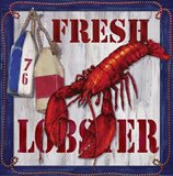 Fresh Lobster Sign 2