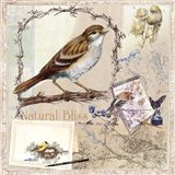 Natural Bliss Birds -Tan