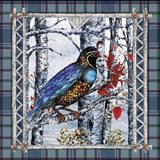 Birch Frame Plaid-Partridge