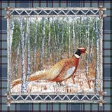 Birch Frame Plaid-Pheasant
