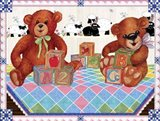 Teddy Bears And Blocks