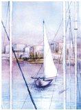 Sailing Into Harbor