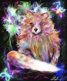 Galaxy Baby Fox