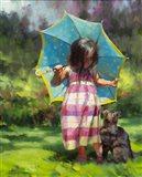 The Teal Umbrella